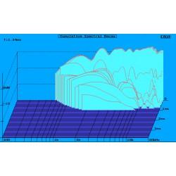 Supravox TG1/4 - Amortissement temporel